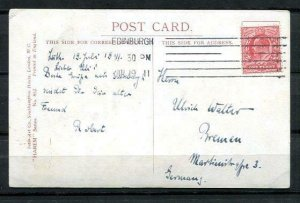 Great Britain Comics Picture  Postal card to Germany 1911  Used 1 penny 9694