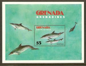 Grenada Grenadines #533 NH Spotted Dolphins SS