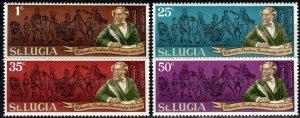 St Lucia #278-81  MNH