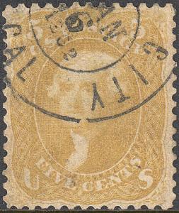 U.S. 67b Used FVF (52519)