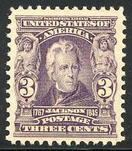 US Scott #302 Mint, VF/XF, NH