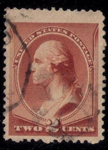 US SCOTT #210 USED F-VF