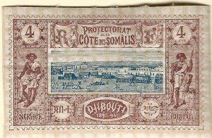 French Somali Coast(Scott #8) VF Mint hr...Buy before prices go up again!