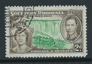 Southern Rhodesia SG 37  VFU