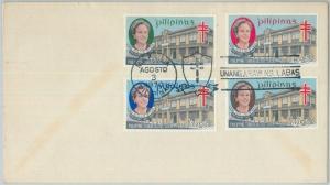 74515 - Philippines  - POSTAL HISTORY - FDC  COVER  1970 Medicine TUBERCULOSIS
