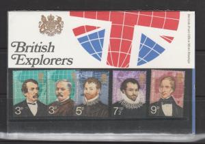 GB Pres packs, 1973 Explorers