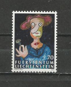 Liechenstein Scott catalogue # 1100 Mint NH