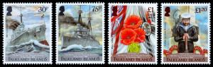 Falkland Islands - Centenary of Battle of The Falkland Is. (2014) Mint NH VF C