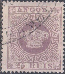 Angola #12 Used
