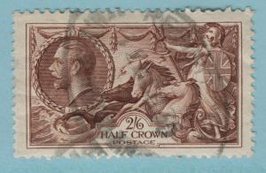 Great Britain Stamp Scott #222, Used, Two Shilling Six Pence, Brittania Rules...