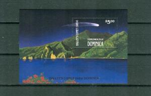 Dominica - Sc# 949.Astronomy 1986 Halley's Comet . NH $3.75.