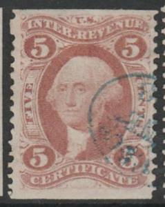 U.S. Scott #R24b Revenue Stamp - Used Single