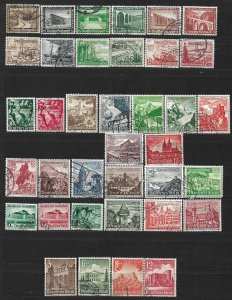 COLLECTION LOT OF #562 GERMANY 37 SEMI POSTAL STAMPS 1936+ CV + $48