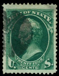 momen: US Stamps #O65 USED JUMBO