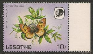Lesotho #428 (SG #570) VF MNH - 1984 10s Butterfly