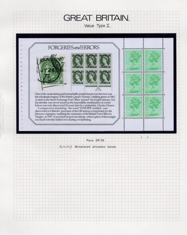 SPECIALISED COLLECTION OF UNMOUNTED MINT 121/2p MACHINS