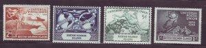 J23735 JLstamps 1949 solomon islands mh set #84-7 upu