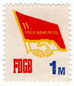 (I.B) East Germany Revenue : FDGB Union Dues 1M (Congress)