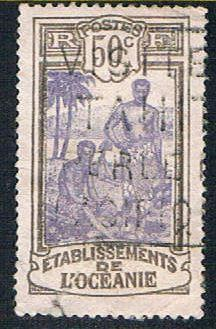 French Polynesia 44 Used Kanakas (BP4317)