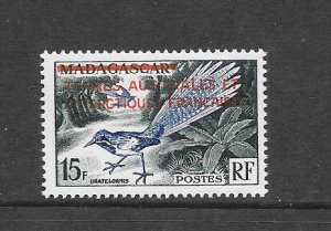 BIRDS - FRENCH SOUTHERN ANTARCTIC TERRITORY #1  MNH