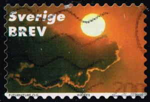 Sweden #2396a Clouds and Sun; Used (1.25)
