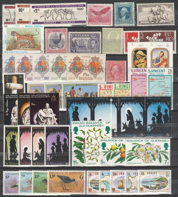 Worldwide Lot-  Mint Never Hinged (A3952)