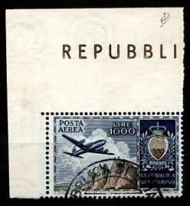 San Marino 1954 S.G. 473 used (1358)
