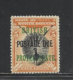 North Borneo #J24 mint Scott cv $45.00
