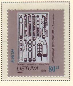 Lithuania Sc 491 1994 Europa stamp set mint NH