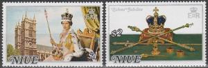 Niue #194-5 MNH F-VF (SU5440)