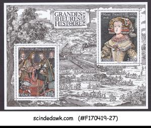 FRANCE - 2018 GREAT MOMENTS OF FRENCH HISTORY MIN/SHT MNH