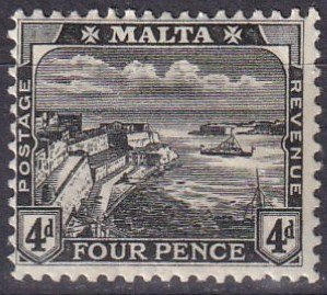 Malta #63  F-VF  Unused CV $17.50  (Z1656)