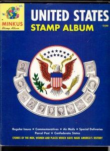 1962 Minkus United States Stamp Album unused, no marks, sound binding