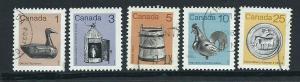 Canada SG 1054, 1056, 1057, 1058, 1060 FU