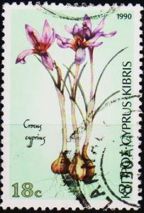 Cyprus. 1990  18c S.G.790 Fine Used