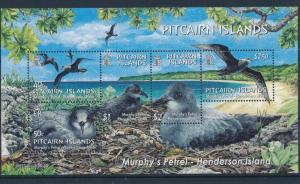 [35811] Pitcairn Islands 2004 Birds Vögel Oiseaux Ucelli   MNH Sheet