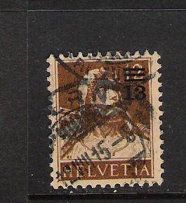 SWITZERLAND 188 VFU 419G