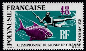 French Polynesia Sc C52 MNH VF...French stamps are in demand!