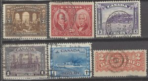 COLLECTION LOT # 3143 CANADA 6 STAMPS 1875+ CV+$33
