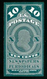 US Stamps # PR6 VF Fresh choice unused