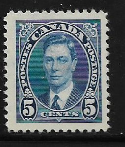 CANADA, 235, MINT HINGED, GEORGE VI