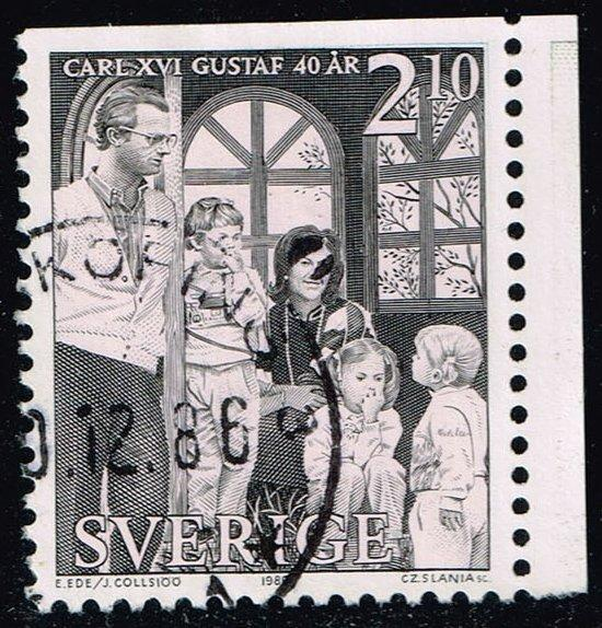 Sweden #1600 Royal Family at Soldien Palace; Used (0.40)