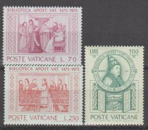 Vatican City #582-4 MNH VF (ST1684)