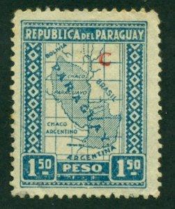 Paraguay 1927 #L25 U SCV (2018) = $0.50