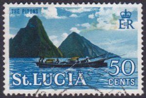 St Lucia 1964 SG208 Used