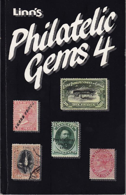 Lynn's Philatelic Gems 4 Book for Stamp Collectors NEW Never Read 168 pages