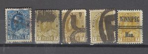 COLLECTION LOT # 2917 CANADA 5 STAMPS 1912+ CLEARANCE CV=$24