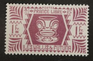 Wallis and Futuna Islands Scott 133 MNH** from 1944 set