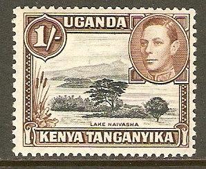 Kenya,Uganda & Tanzania #80 NH 1sh Lake Def.