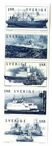 SWEDEN 1096-1100 MNH SCV $4.00 BIN $3.00